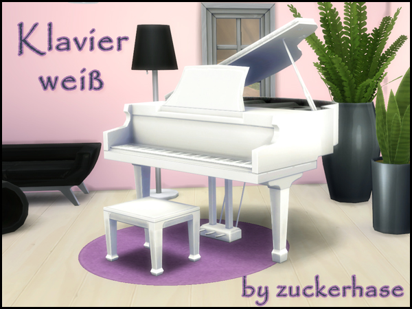 Real White Piano Recolor by Zuckerhase