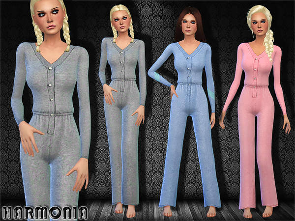 Splendid Cashmere Sleep Romper by Harmonia