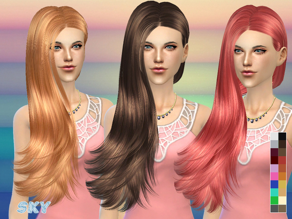 skysims hair 259
