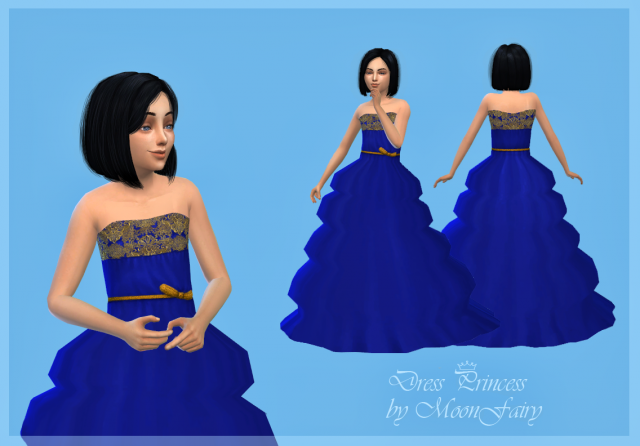 Princess Dress for Girls by MoonFairy