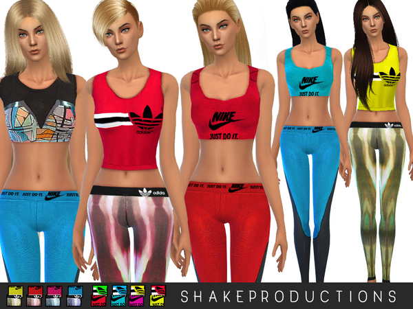 ShakeProductions 13 SPORT SET