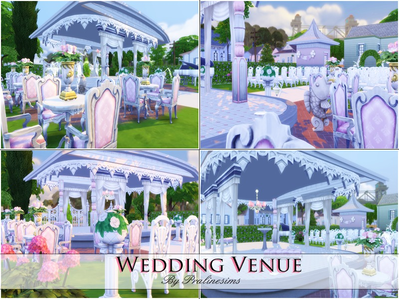 Wedding Venue  BY Pralinesims