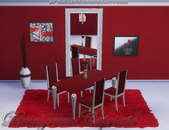 Capriccio Dining Set by Hellen