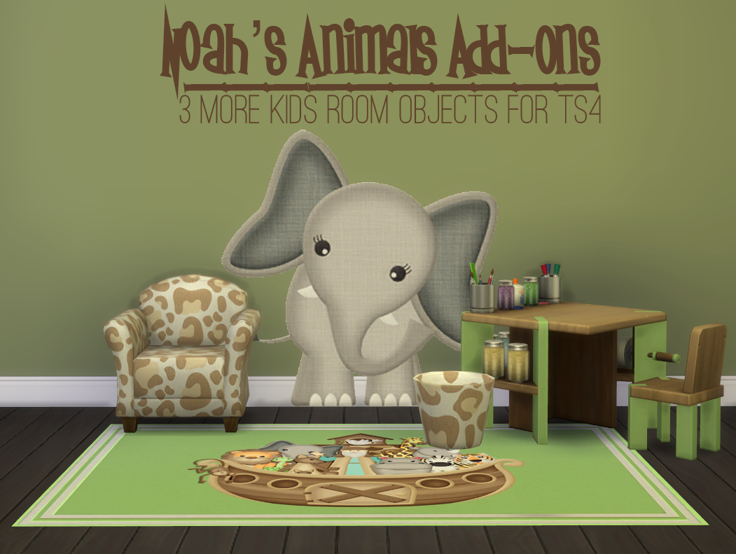 Noah's Animals Add-Ons by JorghaHaq