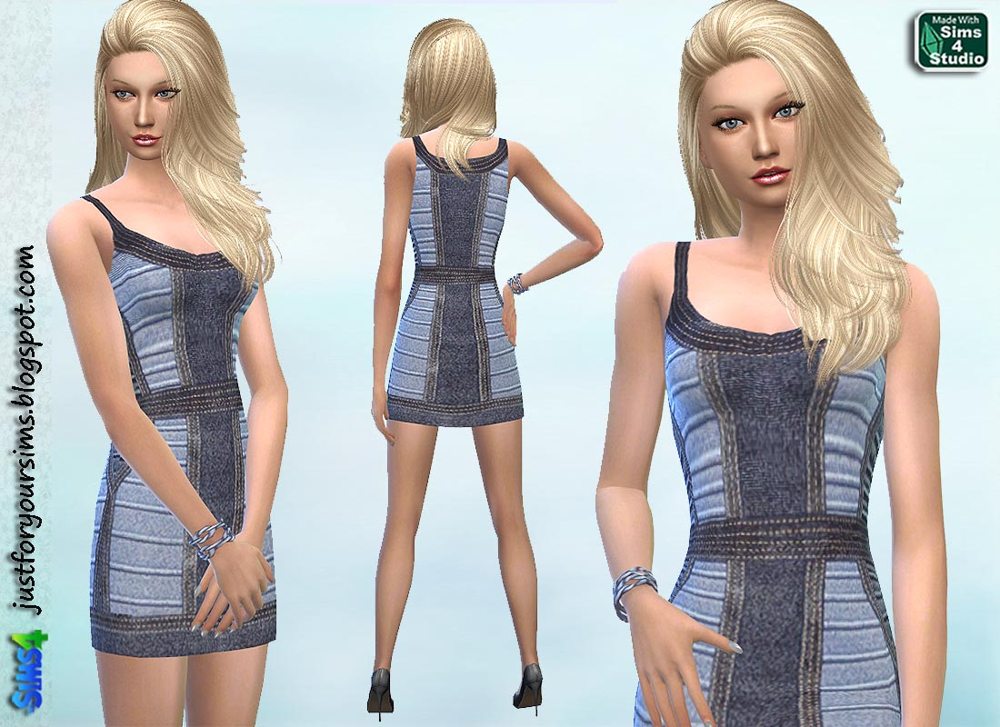 Bandage Dress by Wimmie at Just For Your Sims