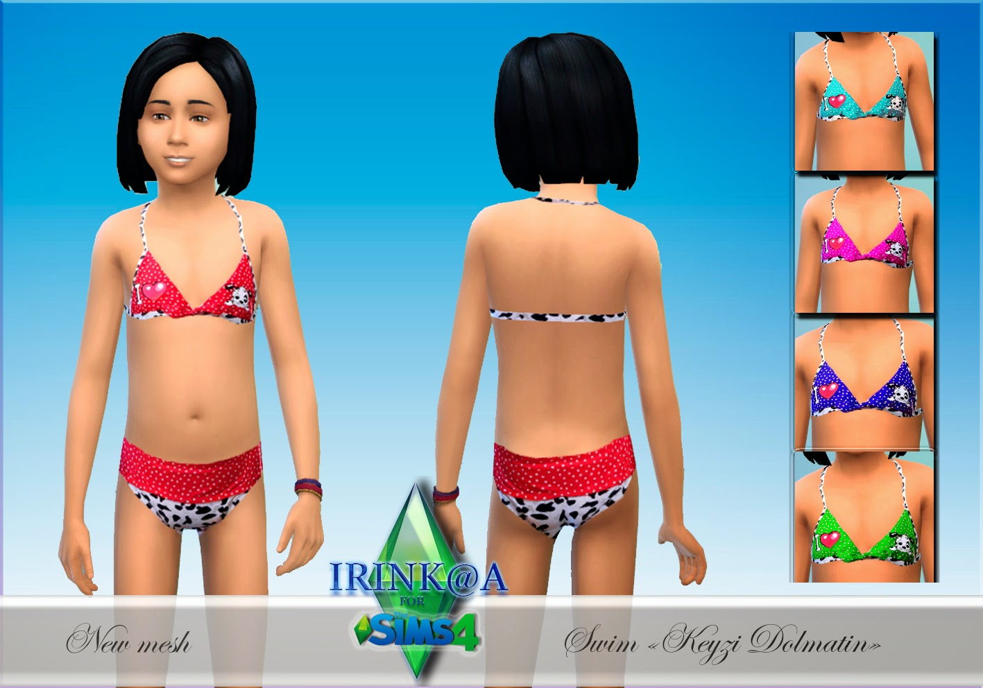 Swimwear for Girls by Irink@a
