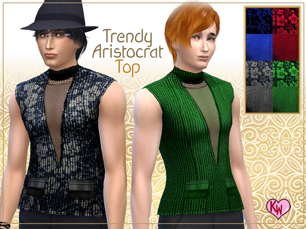 Trendy Aristocrat Top by kokoroworks
