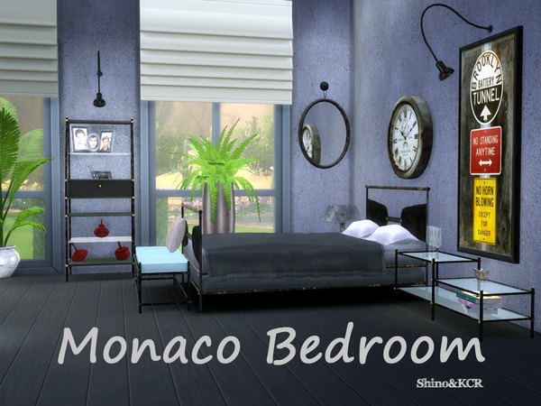 Monaco Bedroom by ShinoKCR