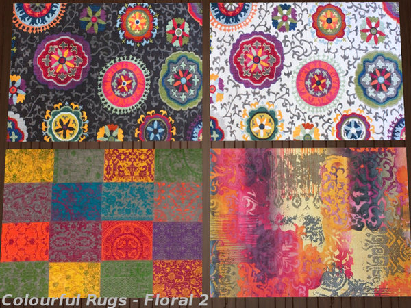 Colourful Rugs by Leander Belgraves