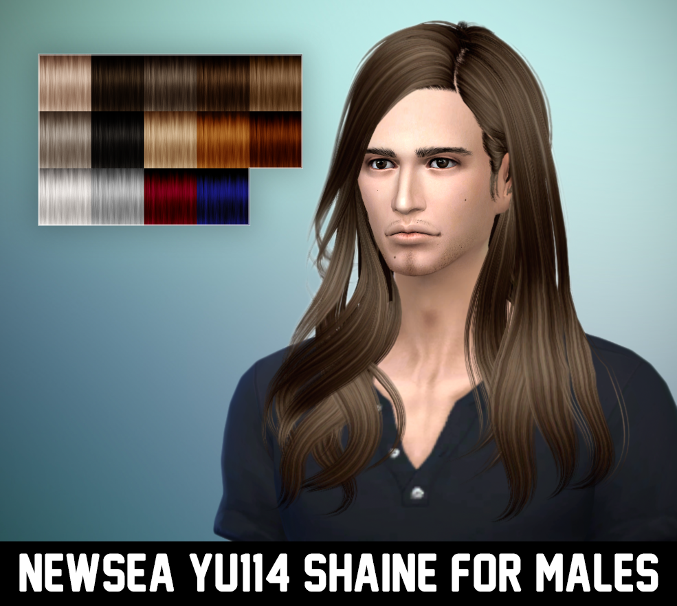 Newsea Shaine Hair for Males by Ritsuka