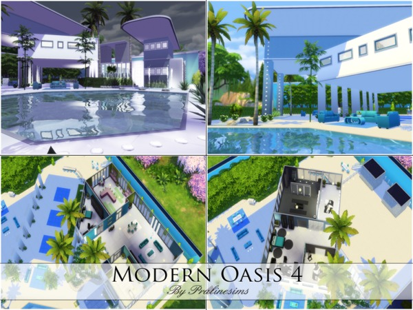 Modern Oasis 4 by Pralinesims