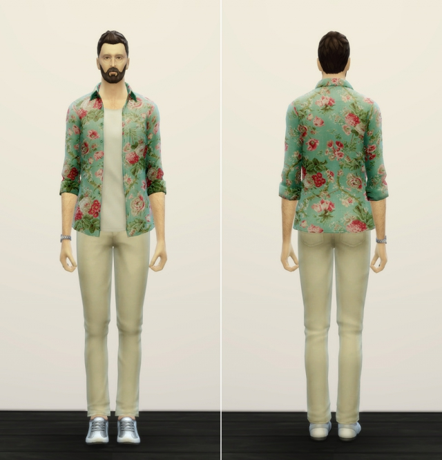 S4 Floral Blossom Male by Rusty Nail