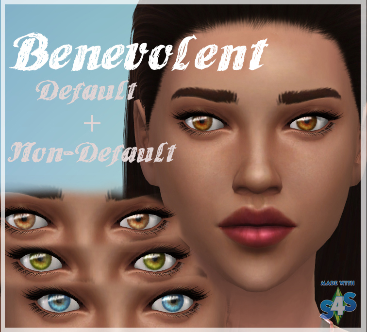Benevolent Eyes - Default and Non-Default by kellyhb5