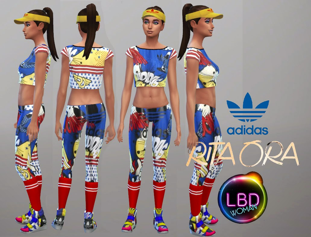 Rita Ora SS/15 sport collection at La Boutique de Jean