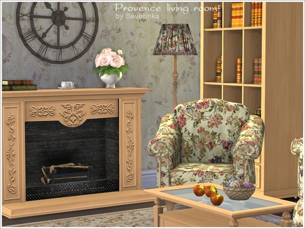 Provence living room by Severinka