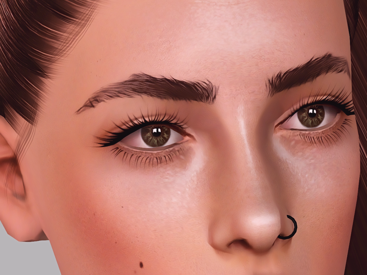 Full Eyebrow Set by andromedasims
