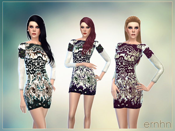 Gypsy Embellished Sequin Dress by ernhn