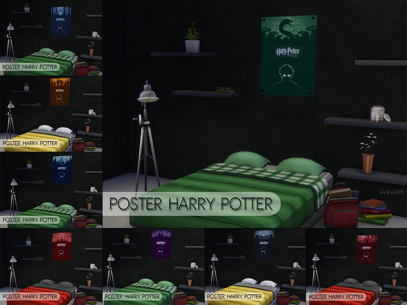 Posters Harry Potter BY sashas93