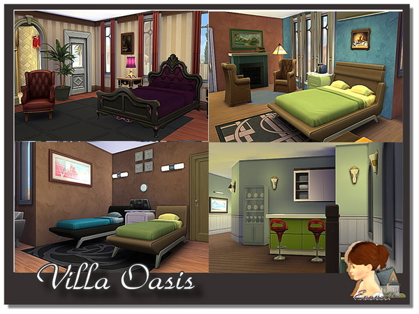 Villa Oasis by evanell