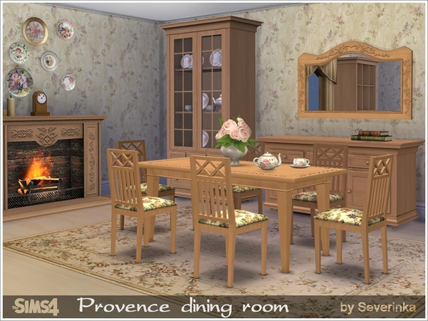 Provence dining room by Severinka