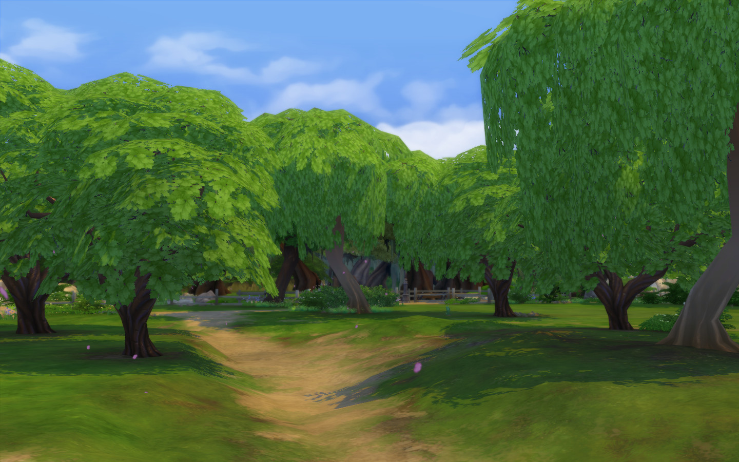 Pink Trees Begone! - Cherry Trees Texture Override by FakeHouses