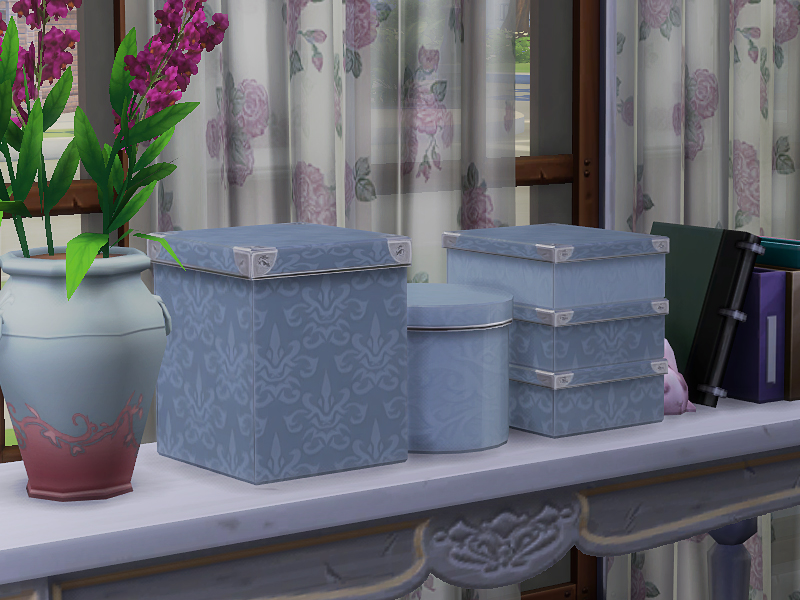 Deco Boxes by Sims4Fun