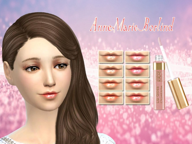 AnneMarie Borlind lipstick by SakuraPhan
