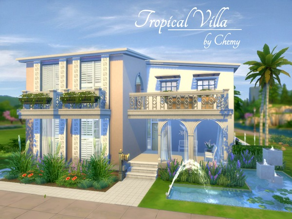 Tropical Villa by chemy