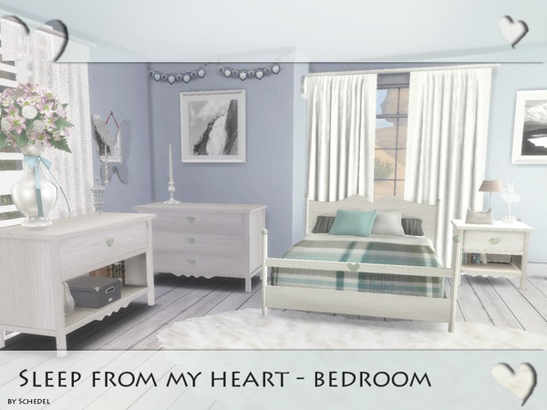 Sleep from my heart - Bedroom by Schedels-Asylum