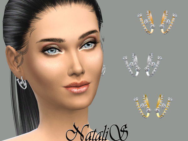 NataliS_Spring and crystal earings FT-FA