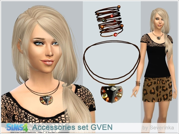 Accessories set GVEN by Severinka
