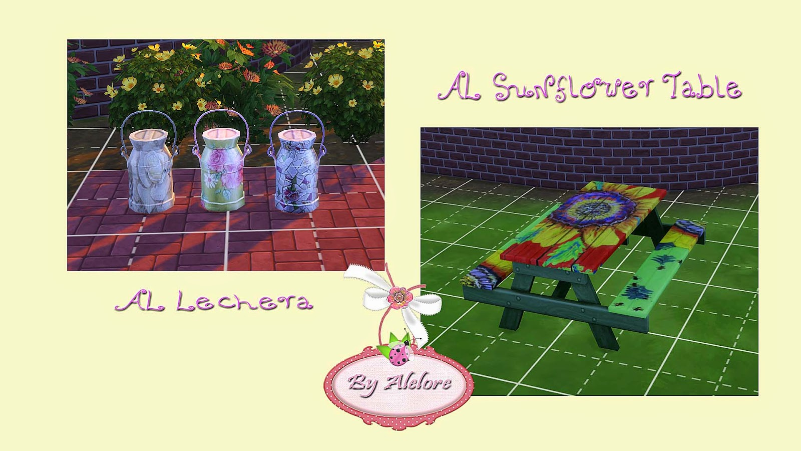 Garden/Outdoor Recolors by Alelore