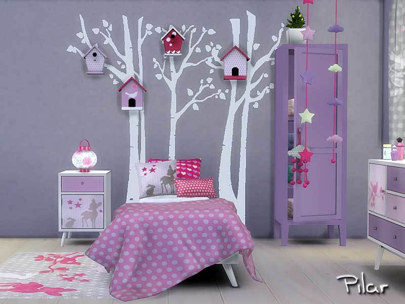 Cassandre Bedroom S4 BY Pilar