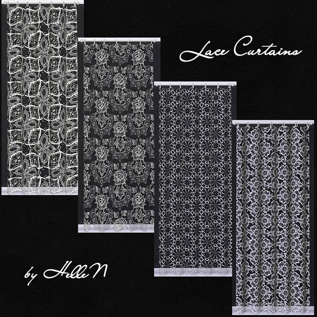 Lace Curtains by Hellen