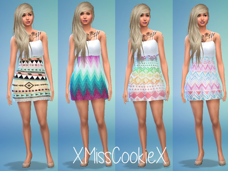 Printed Dresses Set BY xMissCookiex