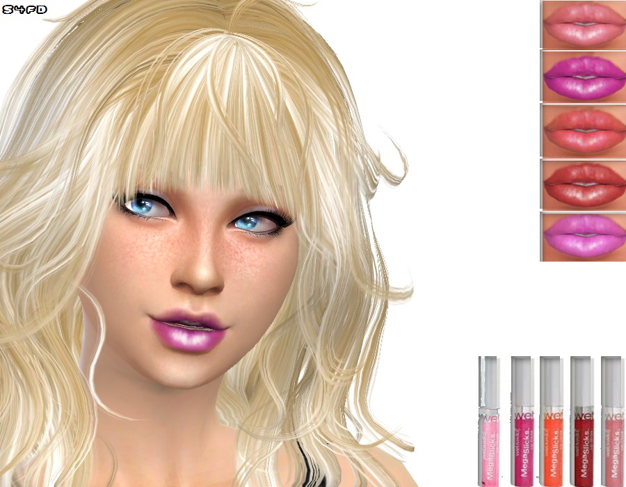 Candy Lipgloss by Sims4FashionDiva