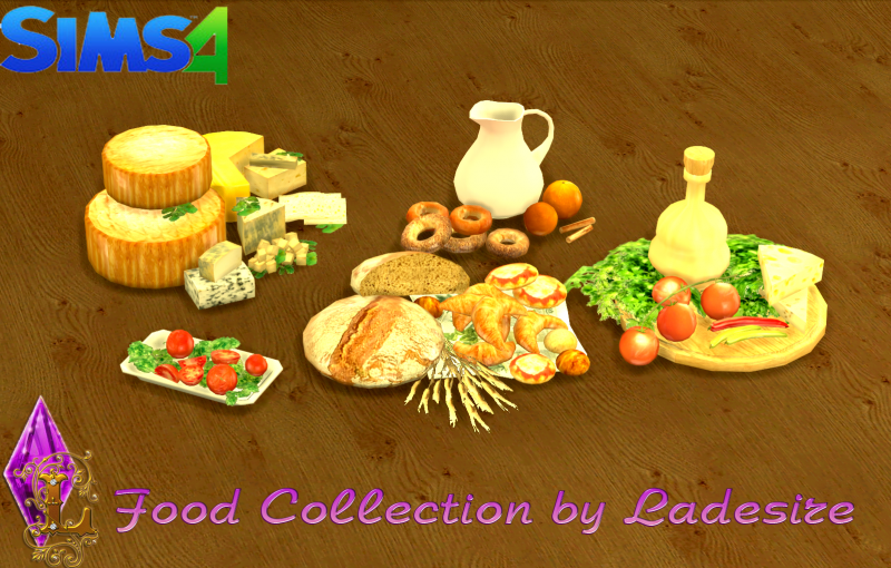 Food Collection by Ladesire