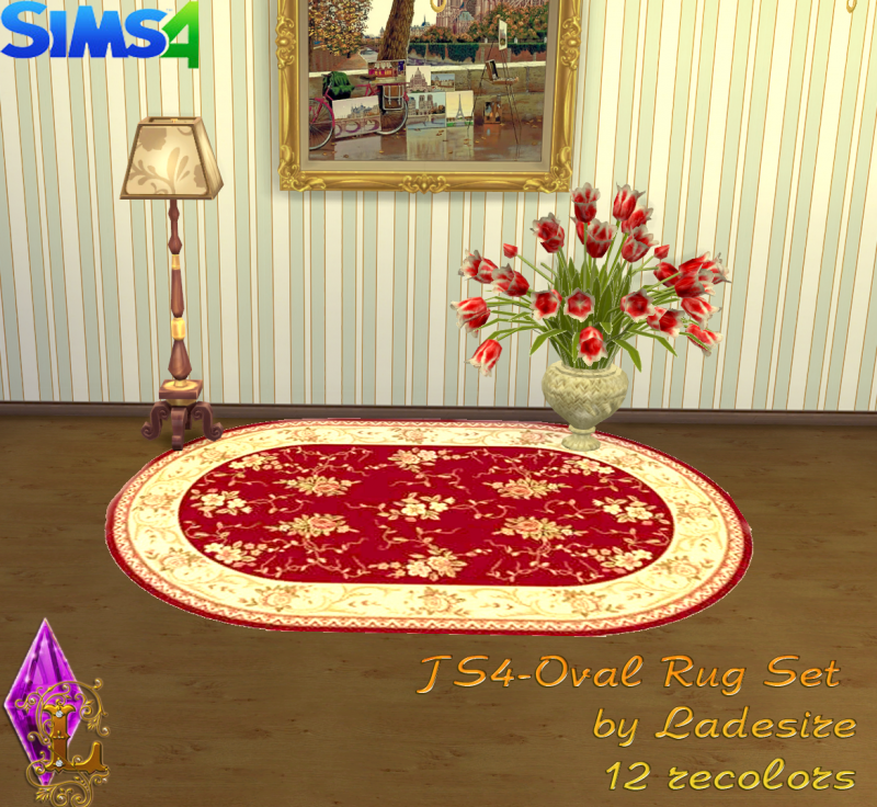 Oval Rugs by Ladesire