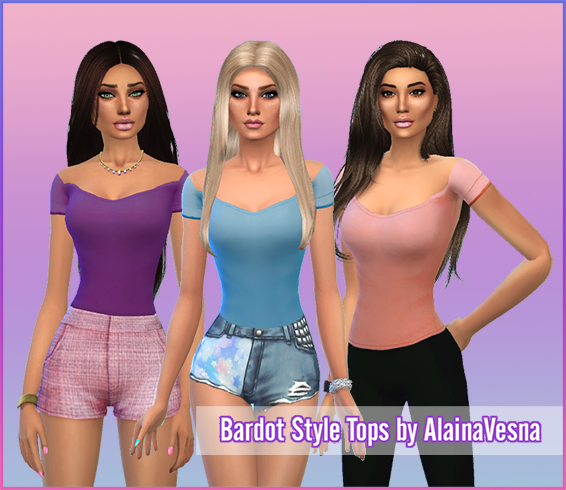 Tops for Females by Alainavesna