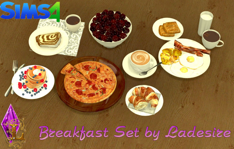 Breakfast Set by Ladesire