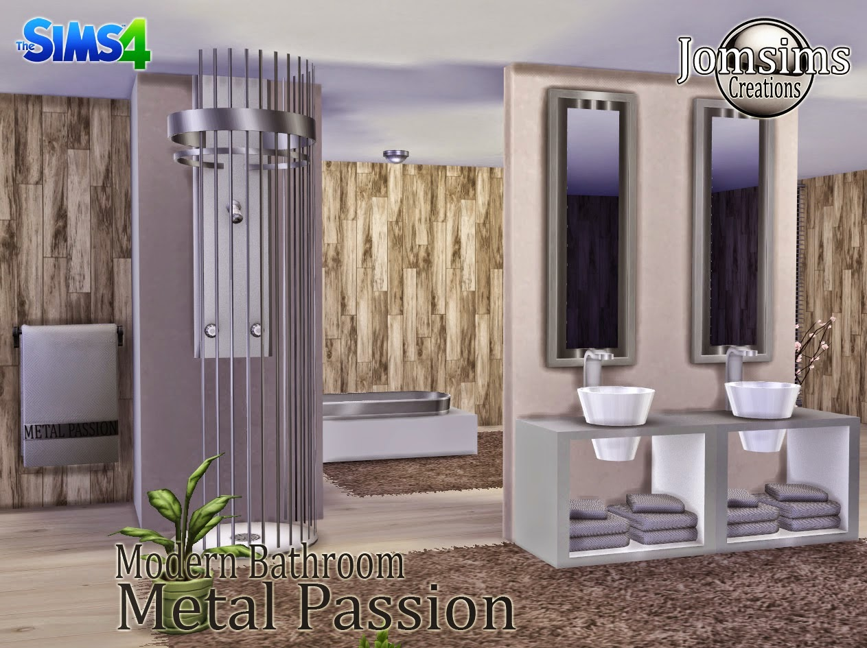 Metal Passion Bathroom by JomSims
