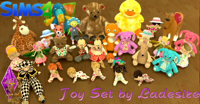 Toy Set by Ladesire