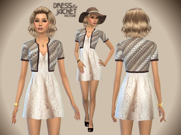 Dress&Jacket by Paogae