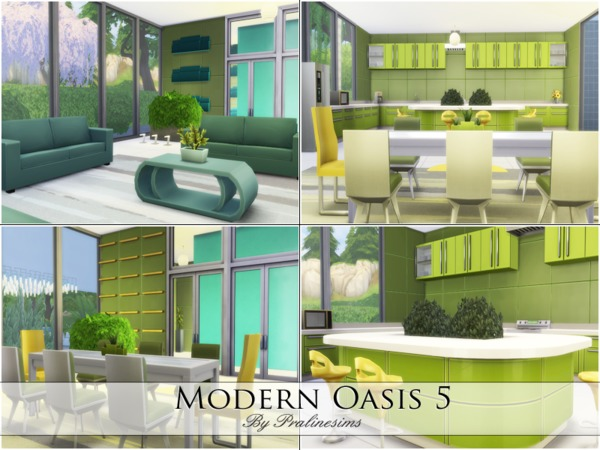 Modern Oasis 5 by Pralinesims