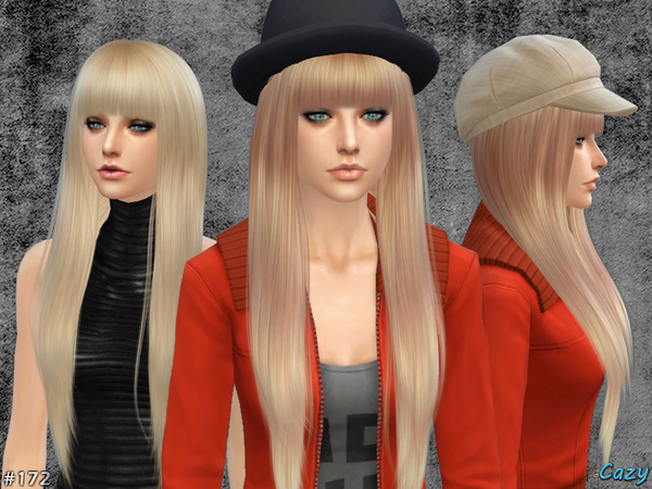 Izzy - Female Hairstyle by Cazy