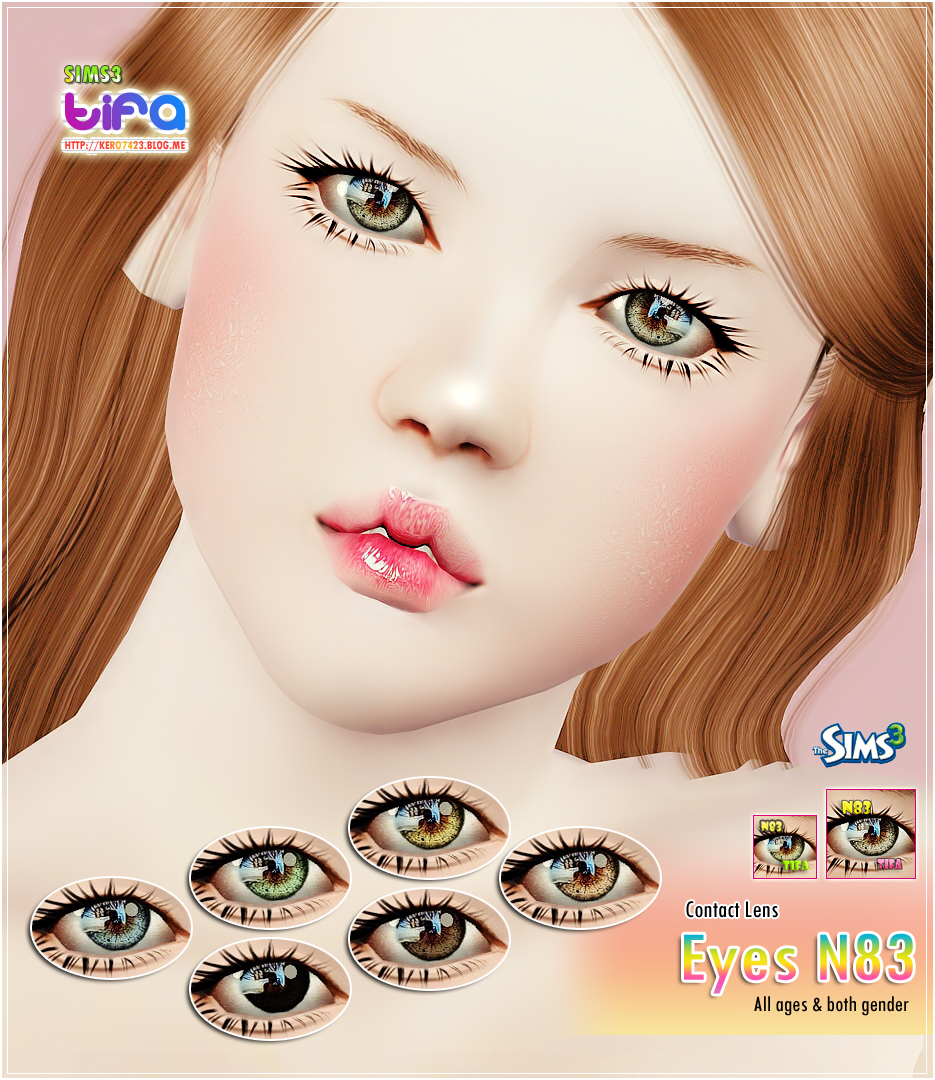 Eyes N83 Contact Lens by Tifa