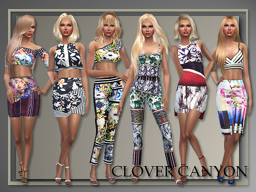 Clover Canyon Spring 2015 for Teen - Elder Females by Judie