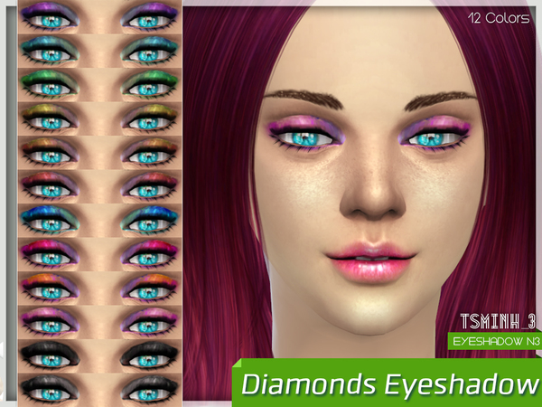 Diamonds Eyeshadow by tsminh_3