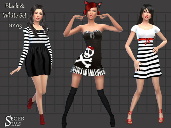 Black & White Set 03 by SegerSims