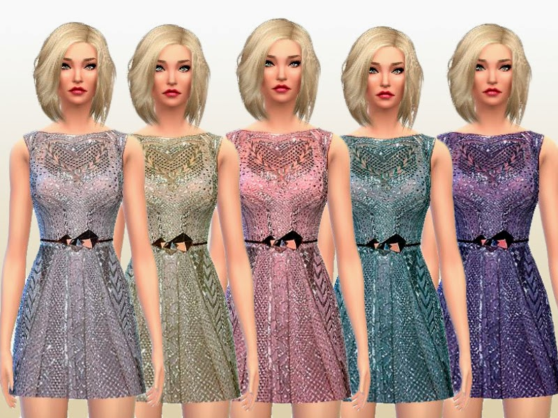 Grey Pearl Dress by Laupipi